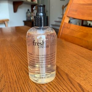 PHILOSOPHY Fresh Cream Hand Wash 8 oz!!